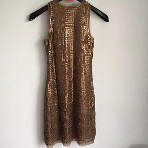 Max Studio Dresses - Max Studio Matte Sequins Shift Dress